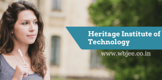 Heritage institute of technology-www.wbjee.co.in