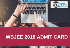 wbjee admit card - www.wbjee.co.in