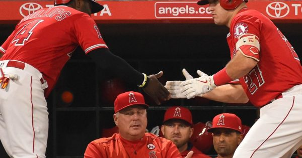 Los Angeles Angels Starting Lineup