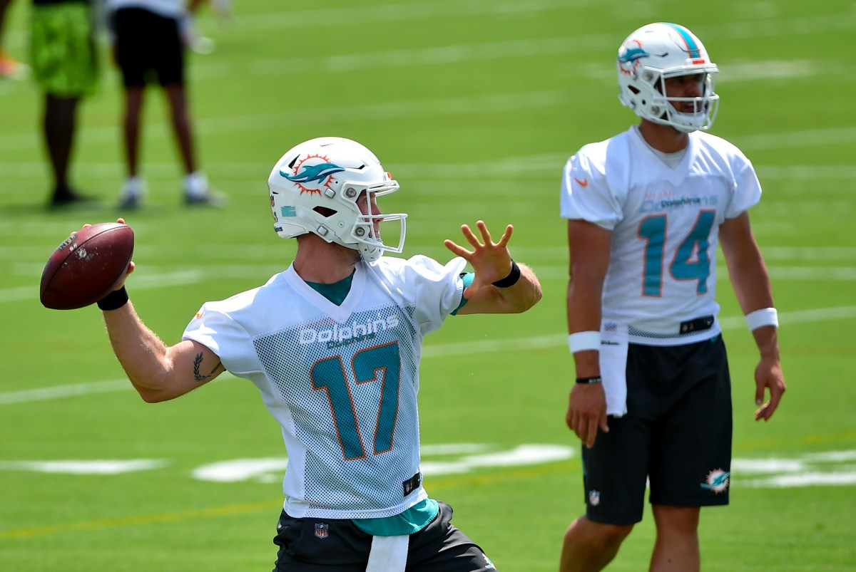 Miami Dolphins Training Camp Preview: Evaluating The Quarterbacks