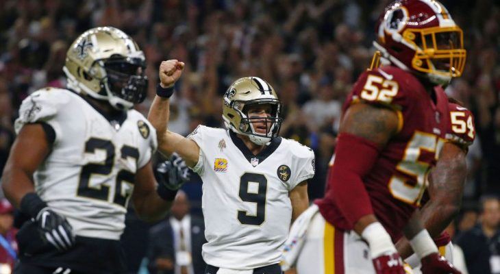 Washington Redskins at New Orleans Saints
