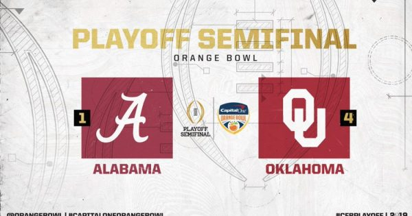 Orange Bowl Alabama Crimson Tide vs Oklahoma Sooners