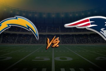 Los Angeles Chargers at New England Patriots
