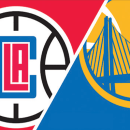 NBA Golden State Warriors at Los Angeles Clippers