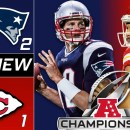 AFC CHampionship New England Patriots at Kansas City Chiefs