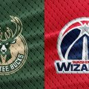 NBA Milwaukee Bucks at Washington Wizards