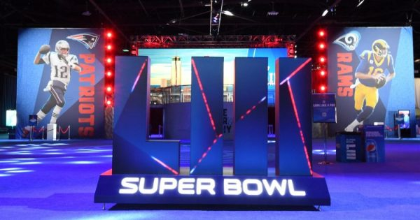Super Bowl LIII New England Patriots and Los Angeles Rams