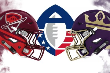 AAF San Antonio Commanders Atlanta Legends