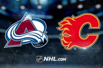 NHL Colorado Avalanche Calgary Flames