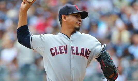 Carlos Carrasco New York Yankees Cleveland Indians