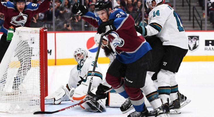 Colorado Avalanche San Jose Sharks