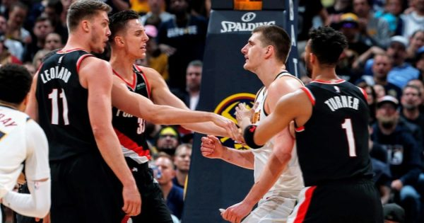 NBA Portland Trail Blazers Denver Nuggets