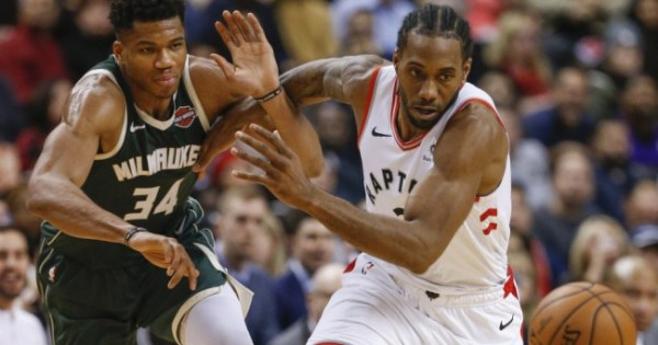 NBA Milwaukee Bucks Toronto Raptors