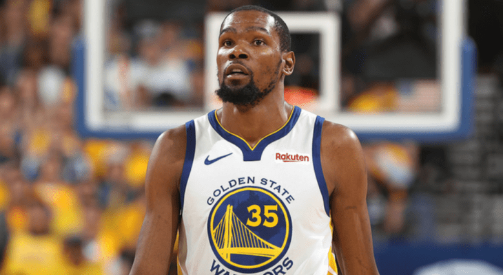 Golden State Warriors Kevin Durant