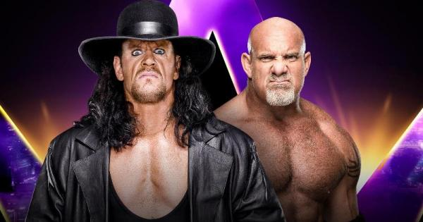 WWE Undertaker Goldberg
