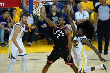 NBA Golden State Warriors Toronto Raptors