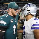 NFC East Quarterbacks Cowboys Eagles