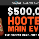 FantasyDraft Hooters Main Event