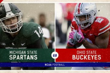 CFB Michigan State Spartans Ohio State Buckeyes