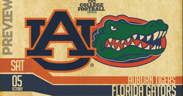 Florida Gators Auburn Tigers