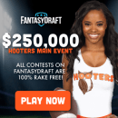 FantasyDraft Hooters Week 12 Main Event