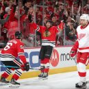 NHL Blackhawks Red Wings