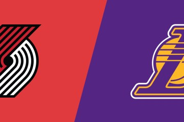 NBA Blazers Lakers