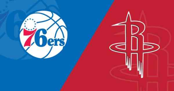 NBA Sixers Rockets