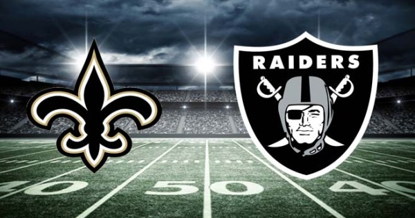 NFL MNF Saints Raiders