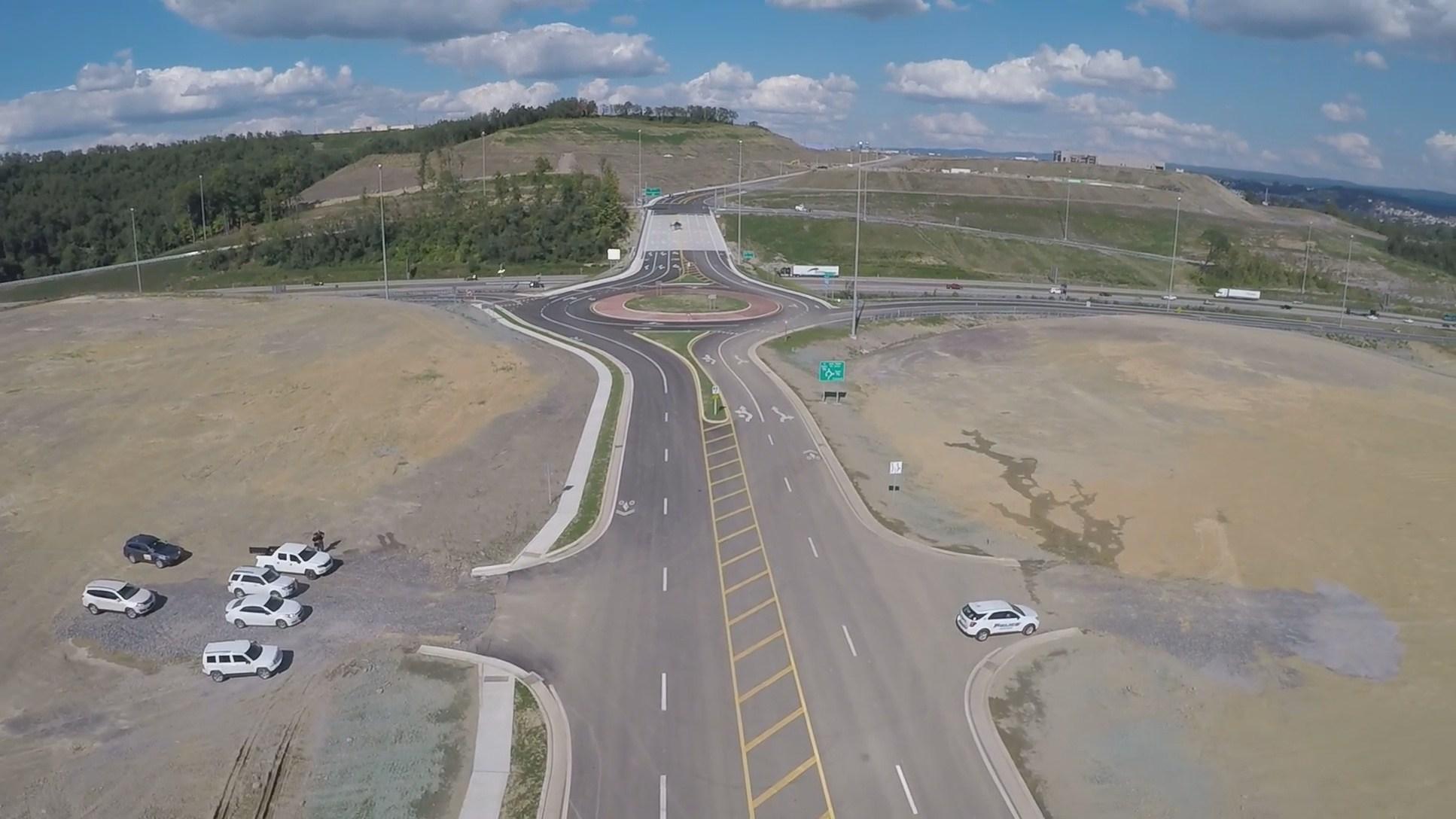New Morgantown I-79 Interchange Open