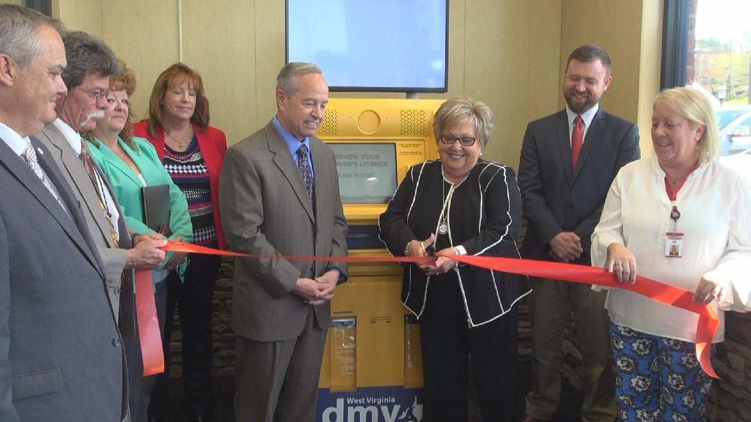 DMV Kiosk Allows Customers to 'Skip the Line'