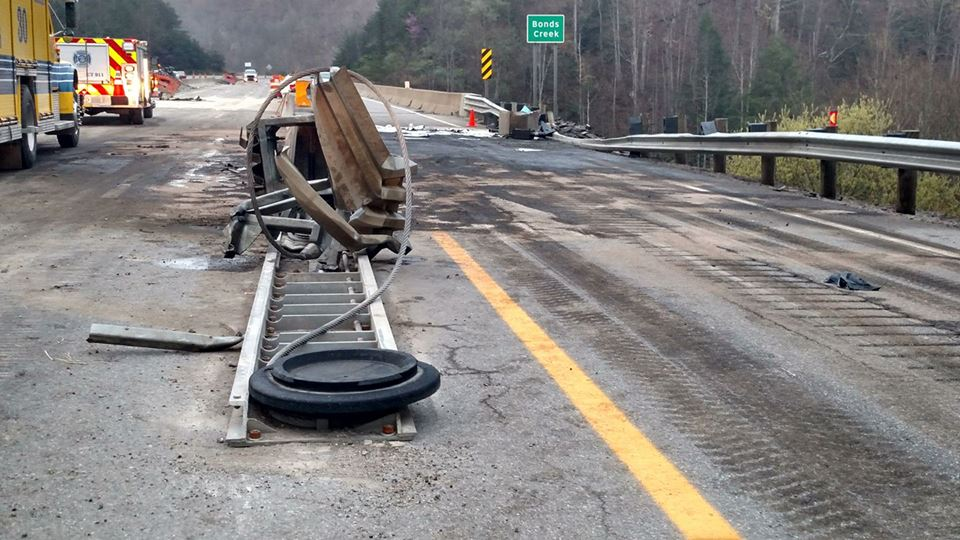 Water Truck Accident Closes Portion of Route 50 in Ritchie County