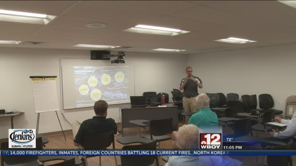 Community Forum Scheduled held for Study Area No. 18  in Morgantown