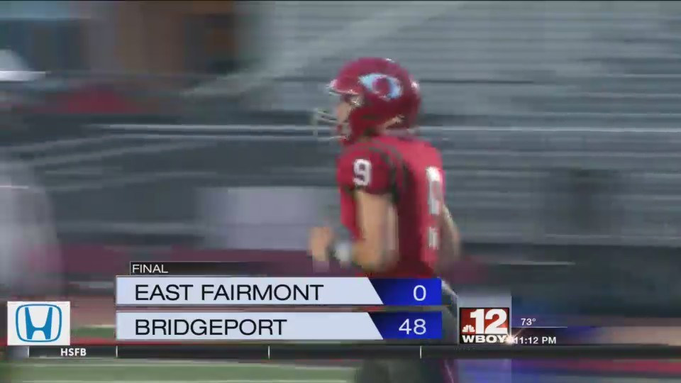 Friday Football Highlights: Fairmont Senior picks up a win on the road, Bridgeport and John Marshall defend home turf.