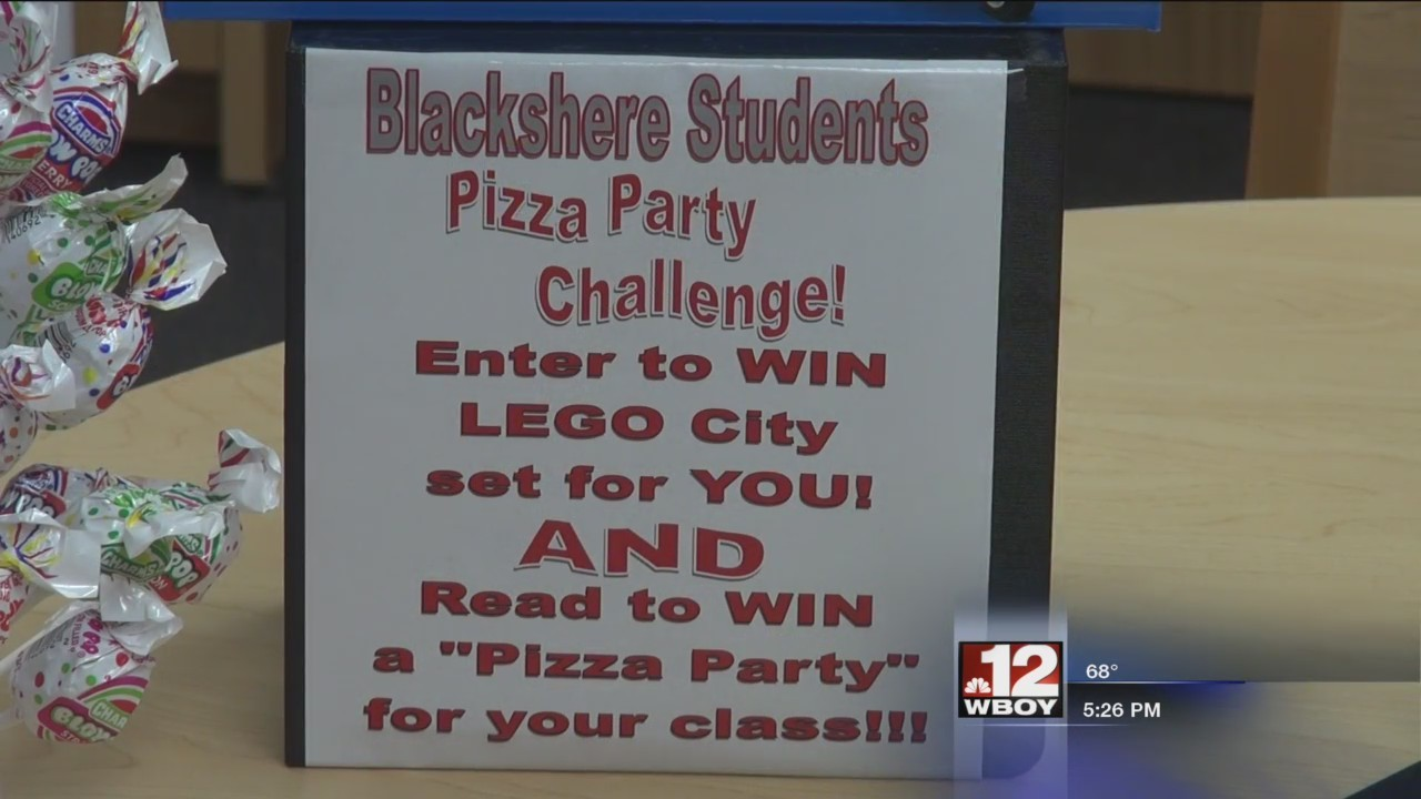 Mannington Public Library hosts pizza party for local grade school
