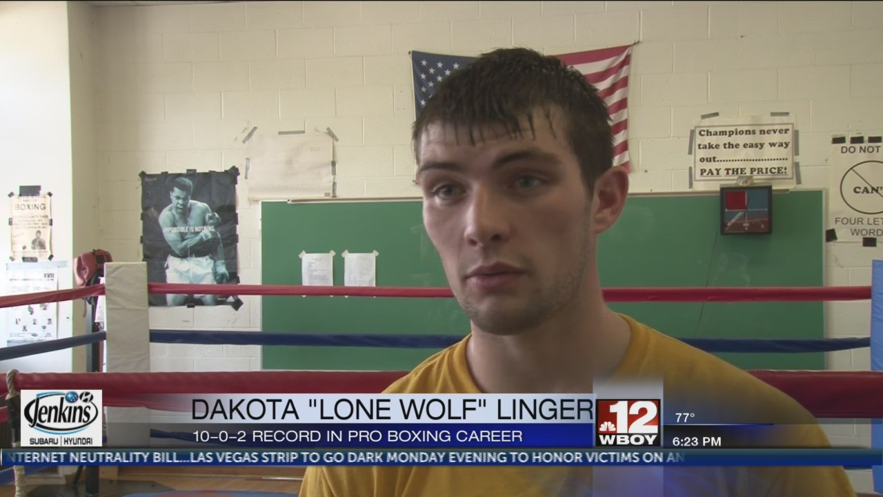 Dakota Linger prepares for Thursday's fight