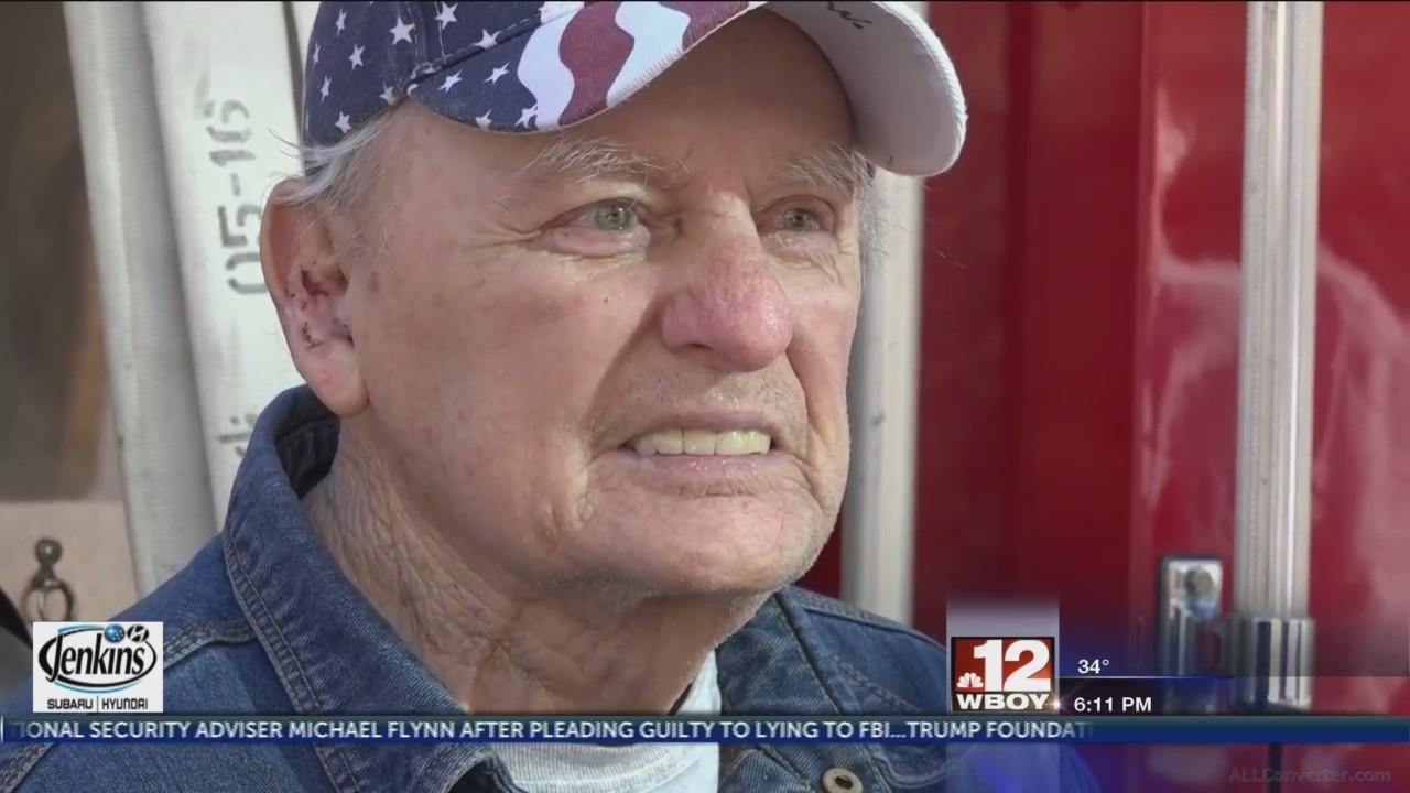 Clarksburg Fire Department honors 9/11 survivor