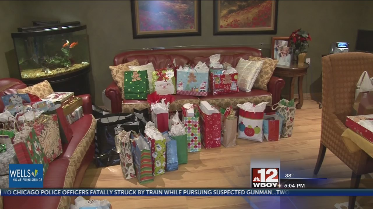 JC Penney provides Christmas gifts for Meadowview Manor Nursing Home residents