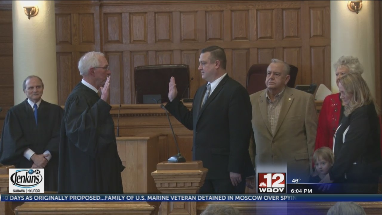Former Taylor County Prosecuting Attorney sworn into office
