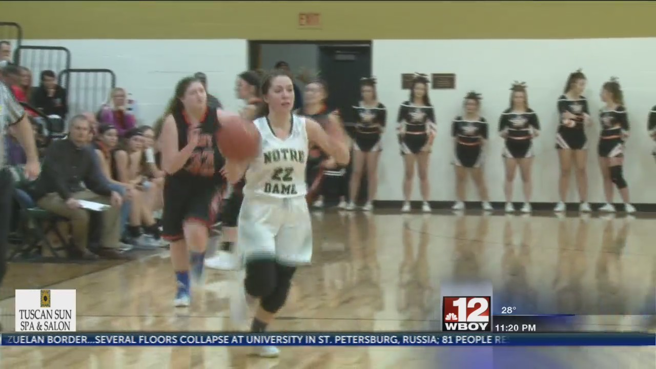 Notre Dame girls shut down South Harrison in Section opener
