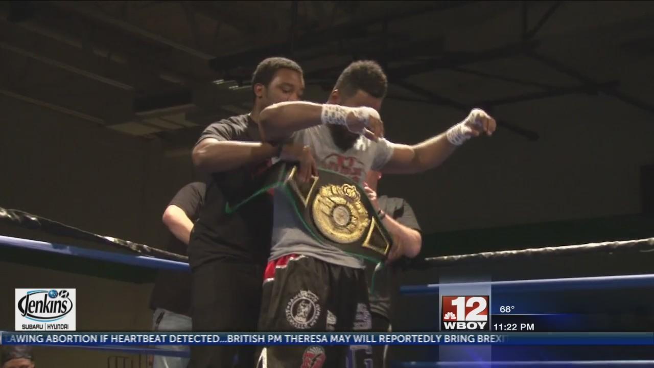 "Keith ""No Holds"" Barr wins WV Cruiserweight belt"