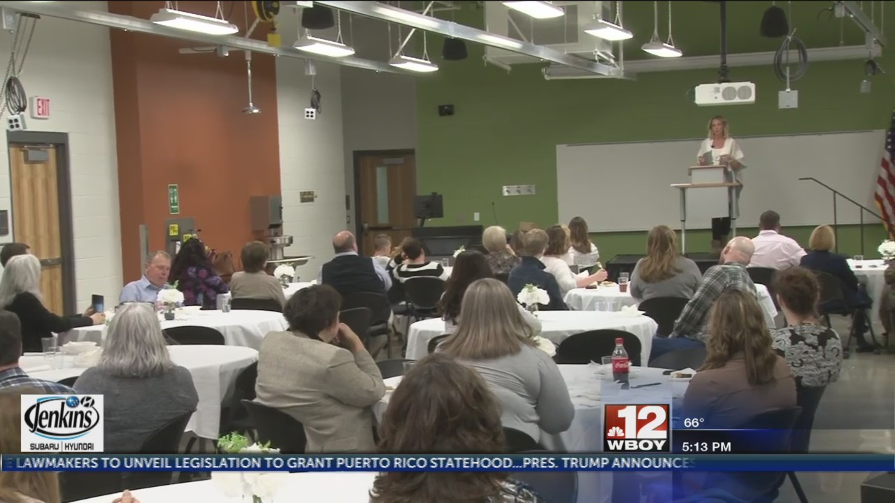 Pierpont's Advanced Technology Center hosts 'Sharing Stories of Service' luncheon to veterans and active military personnel