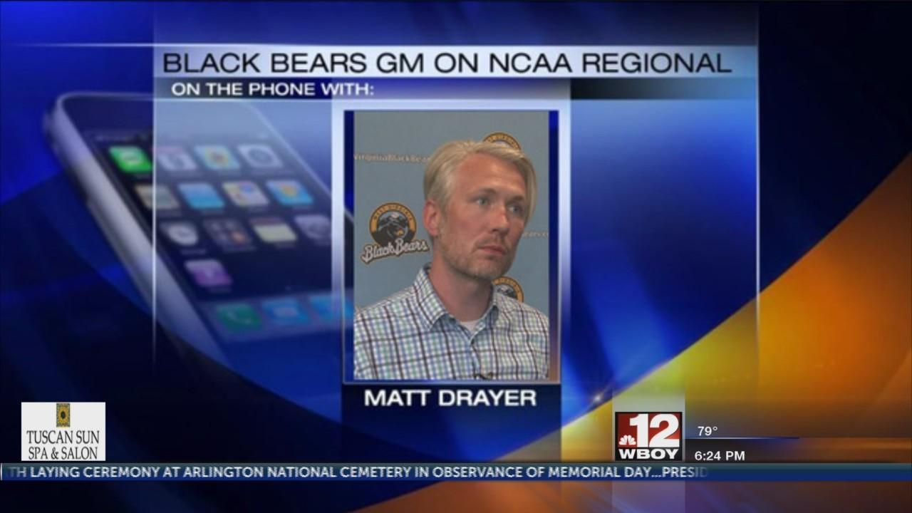 WV Black Bears prep for WVU Baseball to host NCAA Regional