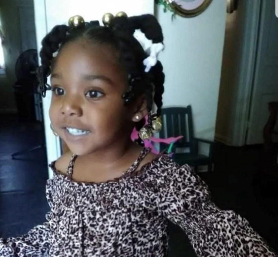 3-year-old Kamille Mckinney
