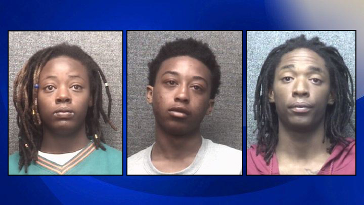 MBPD arrests 3 wanted out of NC after call about people