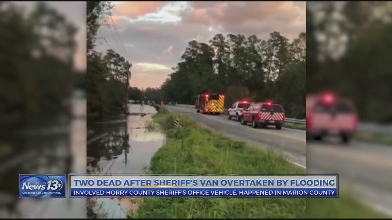 HCSO transport vehicle overtaken by water in Marion County