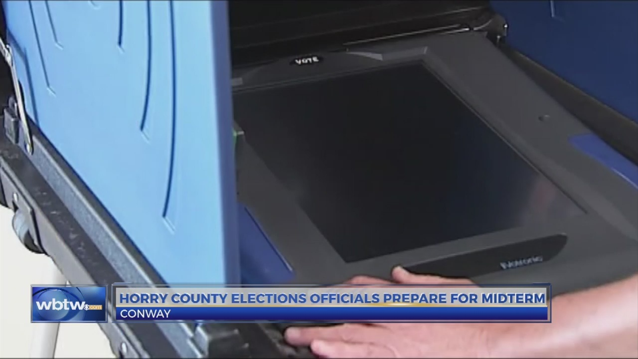 Horry County officials working to prevent voting issues