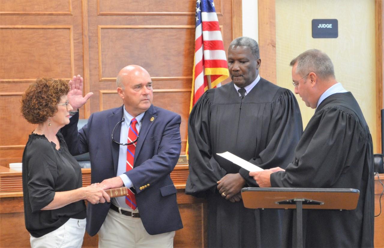 """James Kinley """"Kin"""" McKenzie Jr. was sworn is as new Murrells Inlet Magistrate_1558383813374.jpg.jpg"""