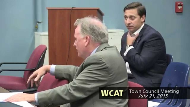 Winthrop Town Council Meeting, July 21, 2015