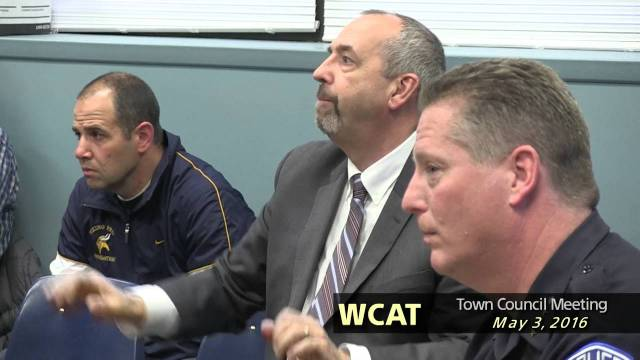 Winthrop Town Council Meeting of May 3, 2016